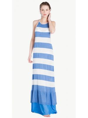 Платье в крупную полоску Twin-Set MS8CKK